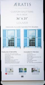 Custom Louver Shutters